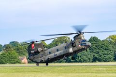 TELFORD,英国, 2018年6月10日-提供独奏皇家空军的照片 库存图片