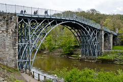 Telford Iron Bridge Stock Photo