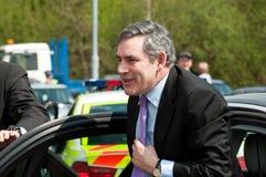 TELFORD, UK - MAY 4: Prime Minister Gordon Brown Stock Photos