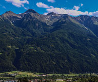 Telfs. Im Stubaital,Tirol,Austria Stock Photo