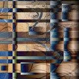 Telha abstrata de Grunge ilustração stock