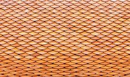 A telha alaranjada foto de stock royalty free
