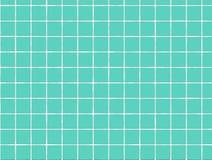 Telha azul do banho Imagens de Stock Royalty Free