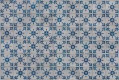 A telha azul e branca portuguesa fotografia de stock royalty free