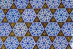 Telha azul turca Imagens de Stock