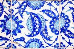 Telha azul turca Imagens de Stock Royalty Free