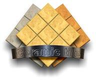 Telha cerâmica Fotos de Stock Royalty Free