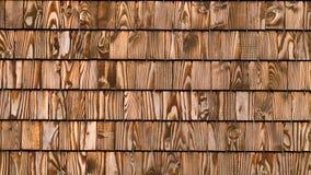 Telha de madeira Fotografia de Stock