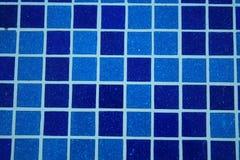 Telha de mosaico azul da associação Fotos de Stock Royalty Free
