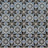 Telha de mosaico do teste padrão de flor Fotos de Stock Royalty Free