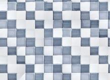 Telha de mosaico Handdrawn Imagens de Stock Royalty Free