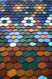 Telha de telhado colorida Foto de Stock
