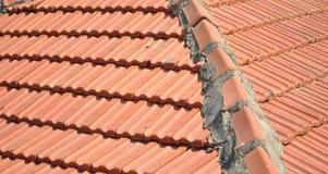 telha de telhado velha Foto de Stock Royalty Free