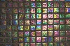 Telha de vidro do mosaico Imagens de Stock