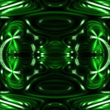 Telha decorativa do teste padrão sem emenda com formas onduladas abstratas Fotos de Stock