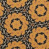 Telha do sol do mosaico do arame farpado da geometria imagens de stock royalty free