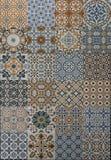 Telha do teste padrão de mosaico Foto de Stock Royalty Free