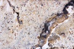 Telha do travertino, cor do material de construção do tijolo Fotografia de Stock Royalty Free