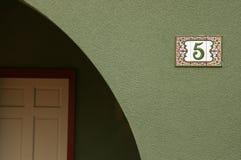 Telha e archway Fotos de Stock Royalty Free