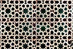 Telha islâmica imagem de stock