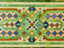 Telha marroquina Imagem de Stock Royalty Free
