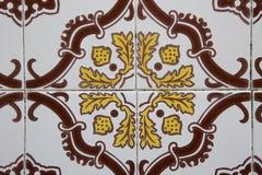 Telha portuguesa tradicional Imagem de Stock Royalty Free