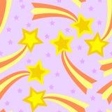 Telha sem emenda da estrela de tiro ilustração do vetor