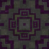 Telha a textura sem emenda gerada mosaico Fotografia de Stock