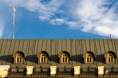 Telhado Foto de Stock Royalty Free