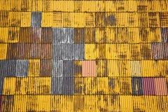 Telhado amarelo. Imagens de Stock Royalty Free