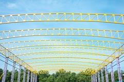 Telhado amarelo Foto de Stock Royalty Free