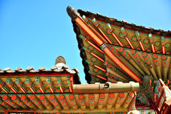 Telhado asiático Fotos de Stock Royalty Free
