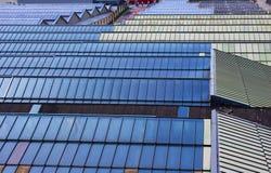 Telhado azul Imagens de Stock Royalty Free