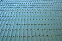 Telhado azul de Tileable foto de stock royalty free