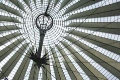 Telhado Center de Sony em Berlim Fotografia de Stock