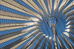 Telhado Center de Sony em Potsdamer Platz, Berlim Fotos de Stock