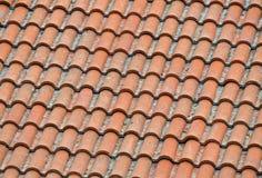 Telhado cerâmico Fotografia de Stock