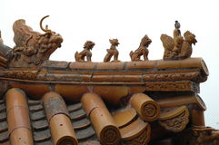 Telhado chinês Imagens de Stock