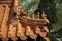 Telhado chinês Fotografia de Stock Royalty Free