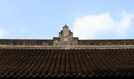 Telhado chinês do templo Imagens de Stock Royalty Free