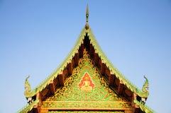 Telhado do templo Fotos de Stock