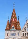 Telhado colorido Fotos de Stock Royalty Free