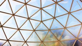 Telhado da abóbada. Fotografia de Stock