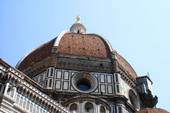 Telhado da abóbada em Florença Imagens de Stock Royalty Free