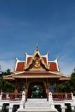 Telhado da arquitetura tailandesa, em Tailândia Foto de Stock