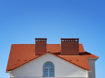 Telhado da casa Fotos de Stock Royalty Free