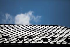 Telhado da casa Imagem de Stock Royalty Free