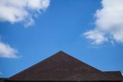 Telhado da casa Foto de Stock Royalty Free