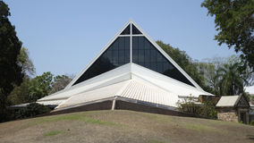 Telhado da catedral da igreja de Cristo, Darwin imagem de stock royalty free