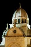 Telhado da catedral do St. Jacob Foto de Stock